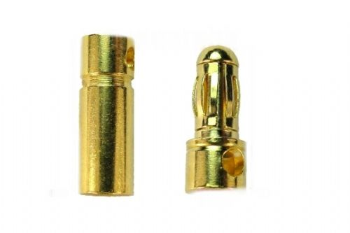 Golden Bullet Connector 3.5mm x 30 pairs