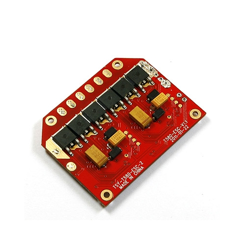 REPLACEMENT ESC lotus RC P4, T580, T580P & T580P+ X 2""