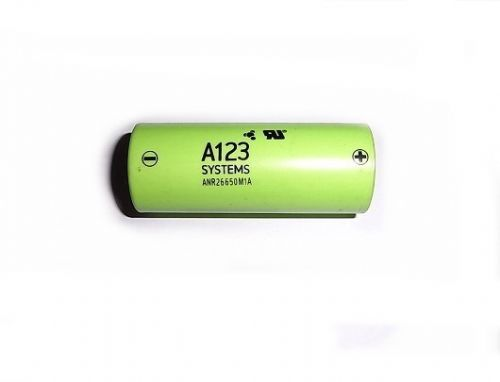 A123 2300mah Li-Ion Nano Phosphate Battery