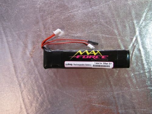 Maxforce 11.1V 2000Mah Li-polymer Battery For Transmitter