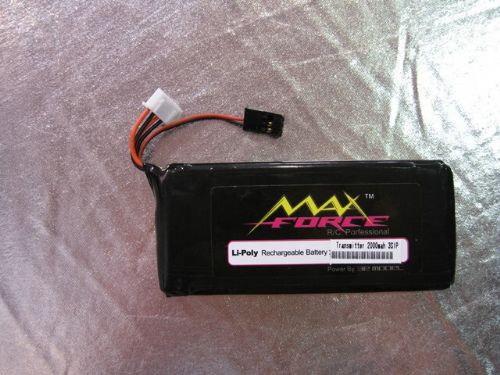 Maxforce 11.1V2000Mah Li-polymer Battery For FUTABA Transmitter