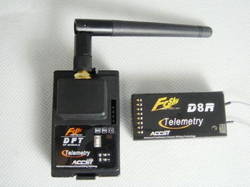 10x Frsky 2.4GHz RadioTelemetry DFT+D8R Two Way Communica