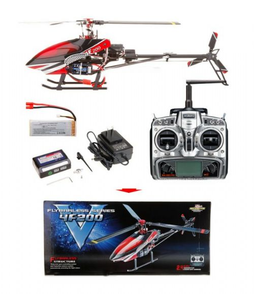 Walkera HM 4F200 Helicopter (2.4Ghz Edition)