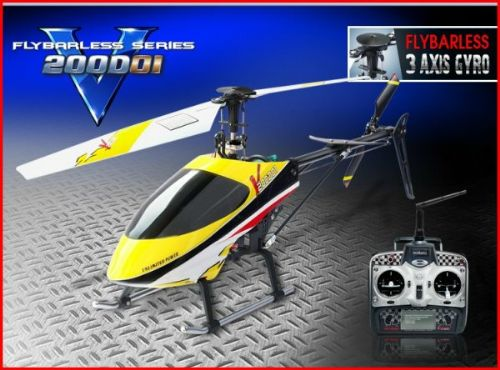 Walkera HM V200D01 Helicopter (2.4Ghz Edition)