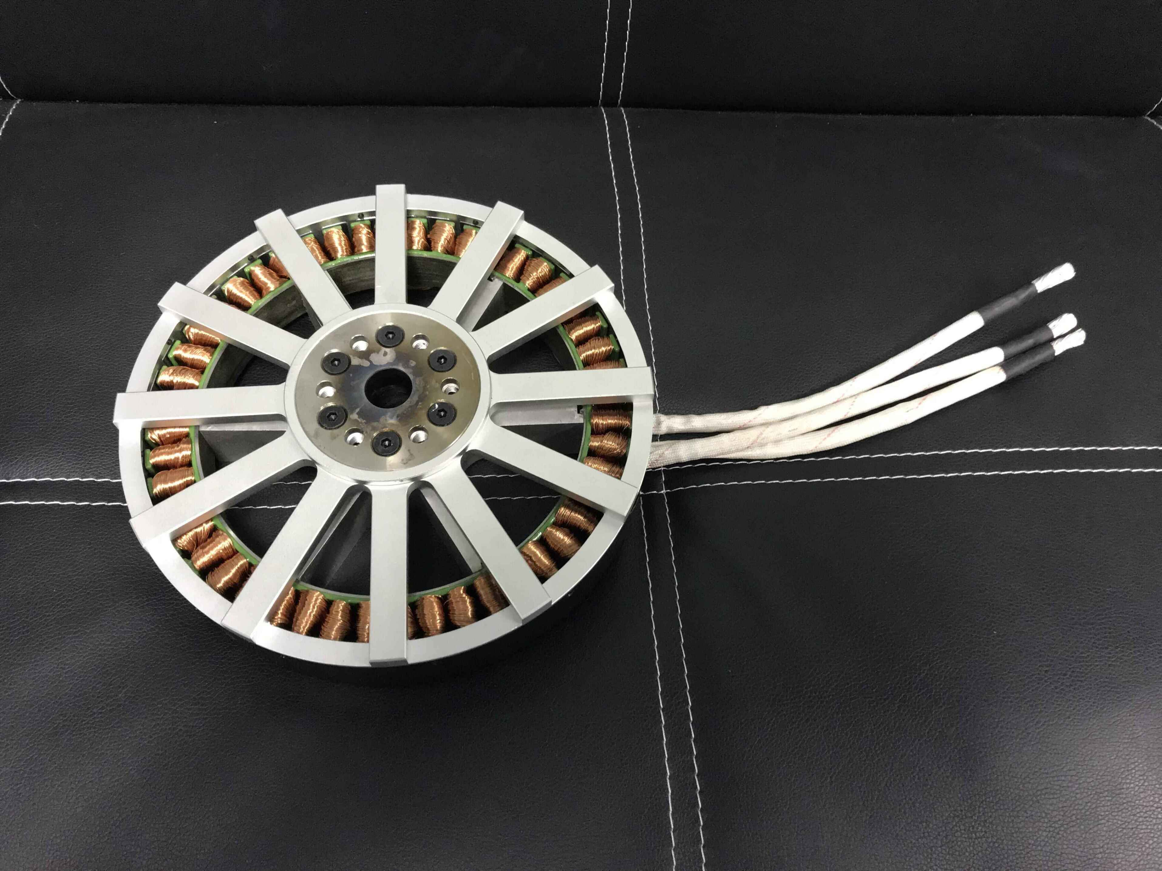 20kw 238-50 lightweight brushless motor halbach array AVAILABLE