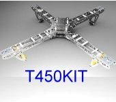 ST450 Four-rotor/ Quadcopter FOLDING Kit BUMBLEBEE CONTROLER