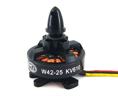HL W42-25 390KV Outrunner Brushless Disk Type Motor for 450-650