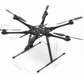 DJI S800 Spreading Wings Hexa Copter KIT ARF