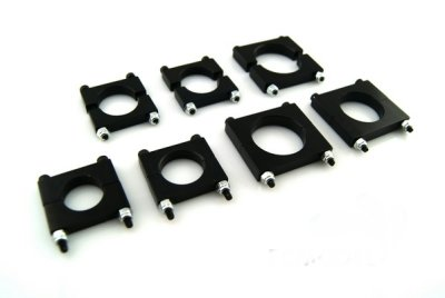 25MM Multi-rotor the CNC aluminum boom clip 5pc