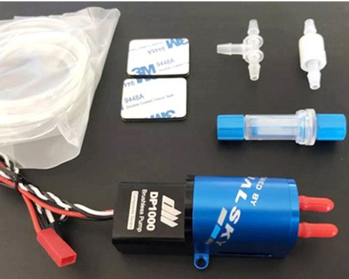 Brushless Smoke Pump Aluminium CNC Processed For RC Airplane Jet