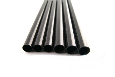 3 k matte twill carbon fiber tube 25x23x550mm