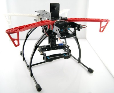 FLYCAT 4-axial DIY Frame W/ 2 Gimbals (Camera Mounts) V2 - High