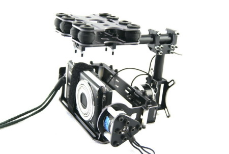 Dual axle Carbon fiber brushless-gimbal