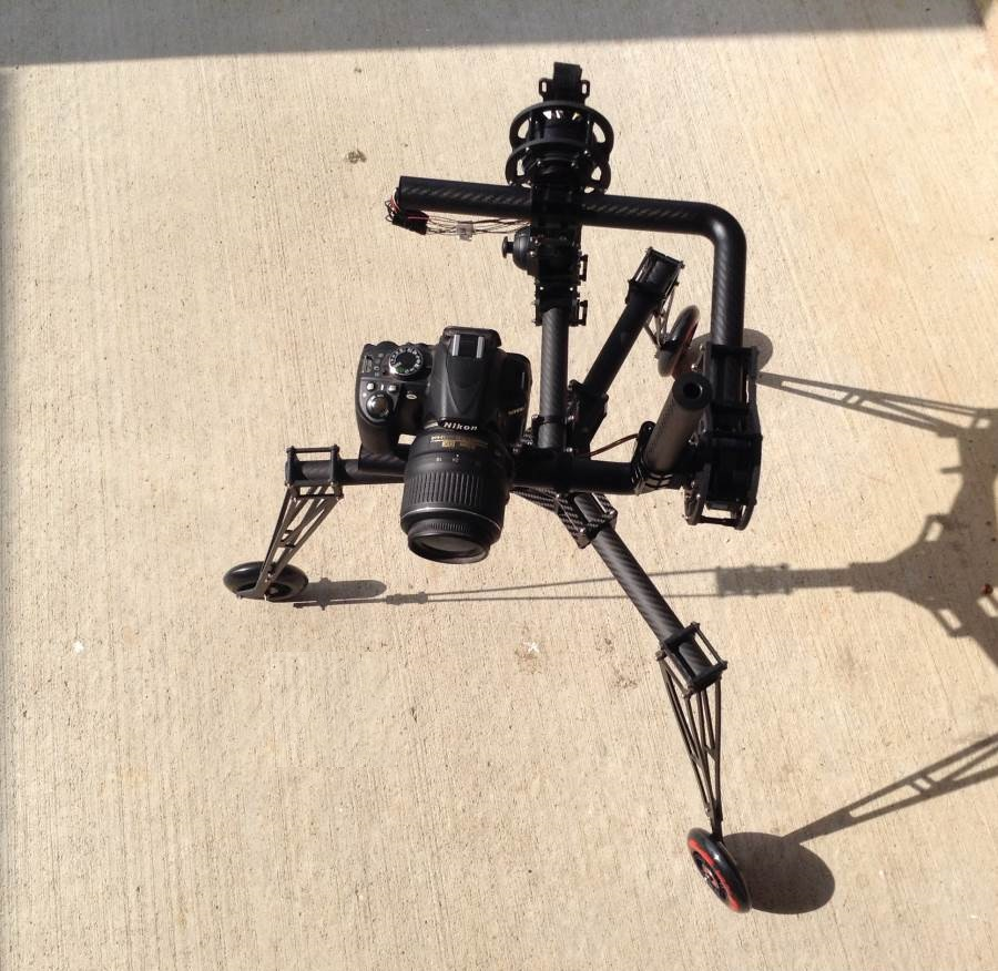 AERIAL 3 axis 360 degrees brushless gimbal