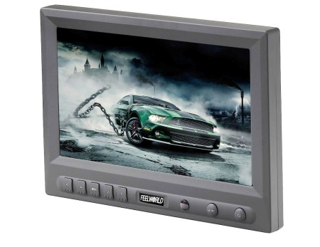 8 inch 800x480P Resolution TFT LCD Field Monitor W/Sunlig