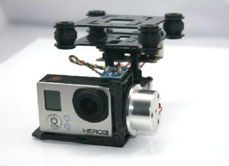 Wind Lite Brushless Gimbal for DJI Phantom Gopro 3