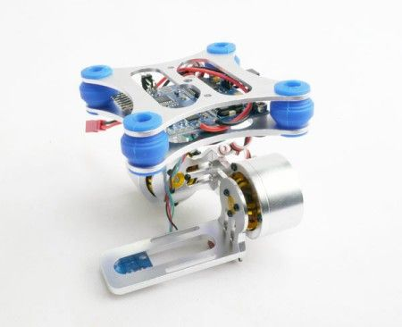 Full Metal 2-Axis Brushless Gimbal Assembly for Gopro 2/ Gopro 3
