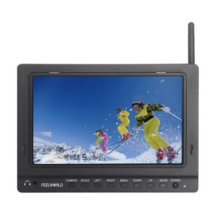 7 inch Monitor Integrated With 5.8G Receiver,DVR Recorder 3-in-1
