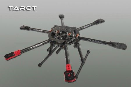 TAROT IRON MAN 690S Foldable Hexcopter Frame Kit TL68C01