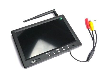 5.8GHz 32CH 7 inch 800x480 LCD FPV Monitor W/Light Shield