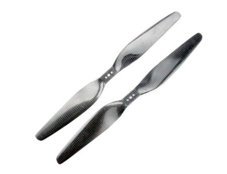 16x 5.5 Carbon Fiber Propeller Set CW/CCW - Direct mounting 1655