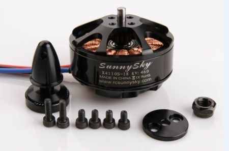 SUNNYSKY X4110S 340KV Outrunner Brushless Motor for Multi-rotor