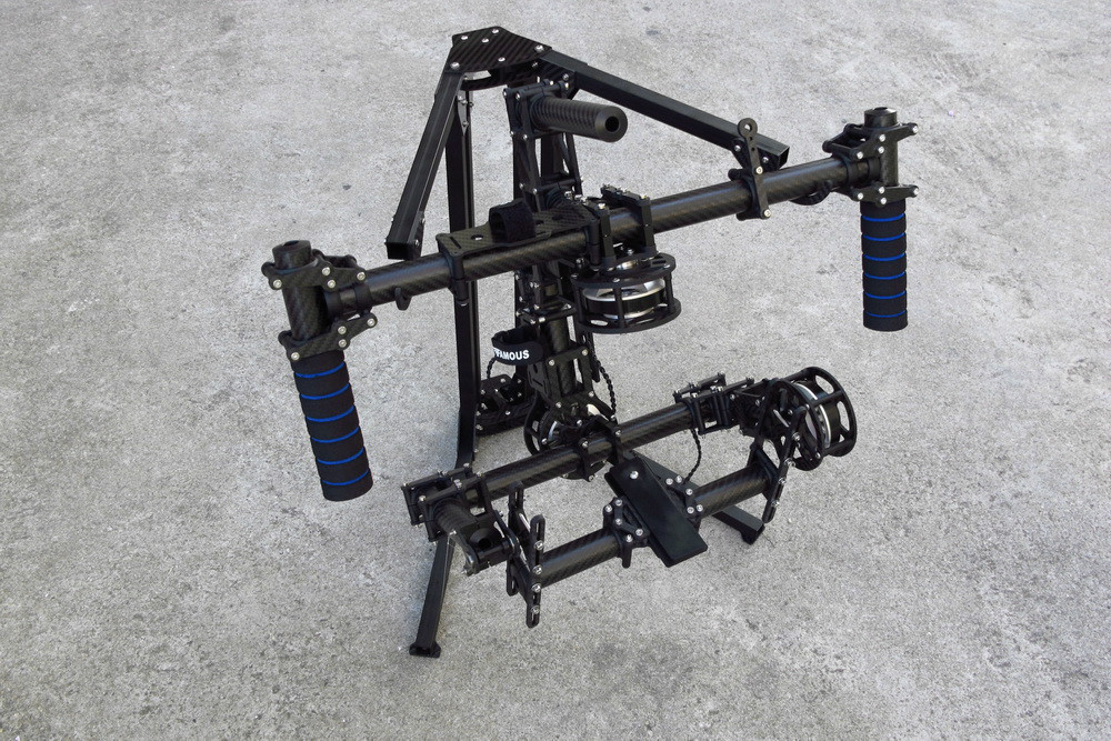 Handle brushless Gimbal stands foldable