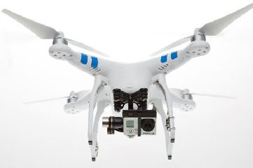 DJI Phantom 2 Quadcopter Higher Payload w/ H3-2D GoPro Zenmuse G
