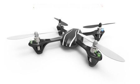 Hubsan X4 2.4GHz 4 Ch LED Lighting Quadcopter H107L Micro Quadco