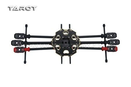 TAROT 680PRO Foldable Hexacopter Frame Kit TL68P00