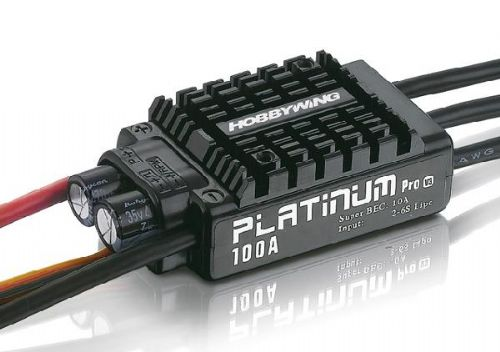 Hobbywing Platinum Series 100A 2-6S High Performance ESC