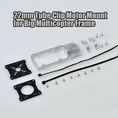 Motor Mount ESC Holder Bracket for 22mm CNC Aluminum Alloy