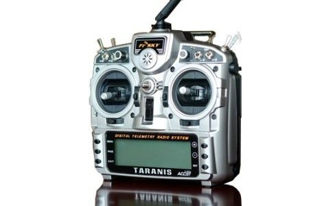 Taranis X9D FrSky 2.4G 16CH Telemetry mode 2 & receiver, no Bat