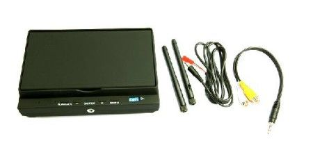 7 inch 5.8G 32CH Diversity Receiver FPV Monitor & DVR Recorder