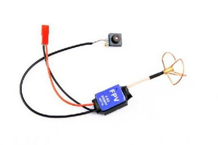 Super Light 5.8G 200mW Transmitter + 600 line Camera RTF