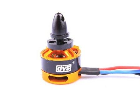 DYS BE1806 / 2300KV 2-3S Outrunner Motor for Mini Multicopters