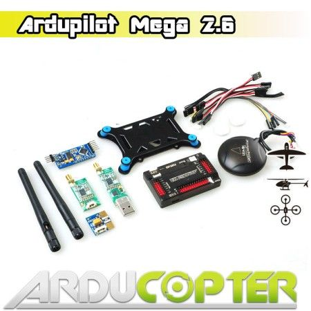 APM 2.6 Flight Controller+6H GPS +3DR Telemetry + OSD+ Power Mod