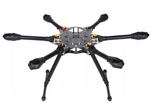X-CAM Kongcopter FH800 Folding Hexacopter Frame Kit w/LDG