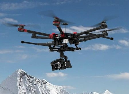 DJI Spreading Wings S900+Z15 Gimbal (N7/GH3/GH4/BMPCC)+A2