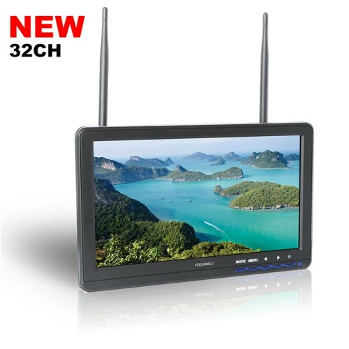 "10.1""FPV monitor Built-in Dual 5.8G 32CH Receiver"