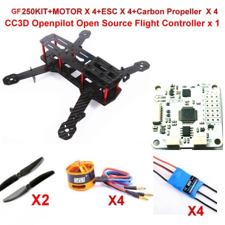 Mini 250 FPV Quadcopter Frame Glass Fiber