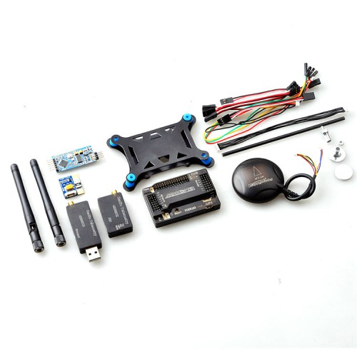APM 2.6 Flight Controller+6M GPS +3DR Telemetry+OSD+Power Module