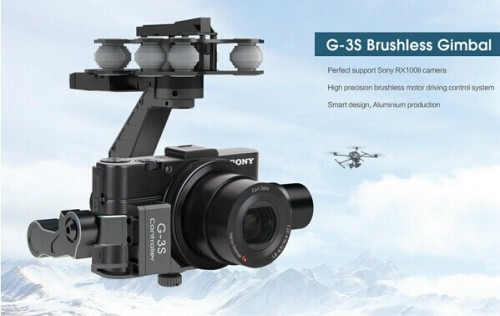 G-3S 3-Axis Brushless Gimbal Camera Mount for Sony RX100 II