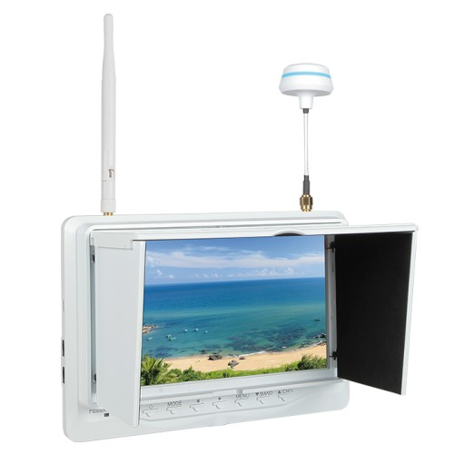 "7"" HD Video Monitor Wireless 5.8G Receiver 32ch"