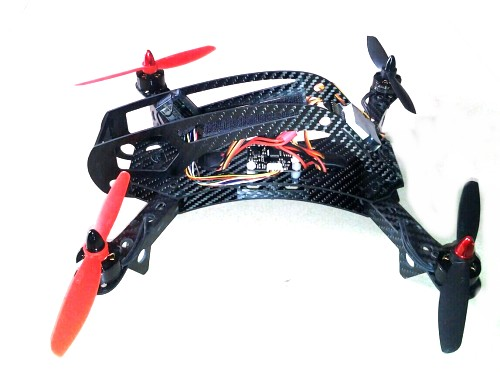 280mm 4-Axis Carbon Fiber Quadcopter Frame