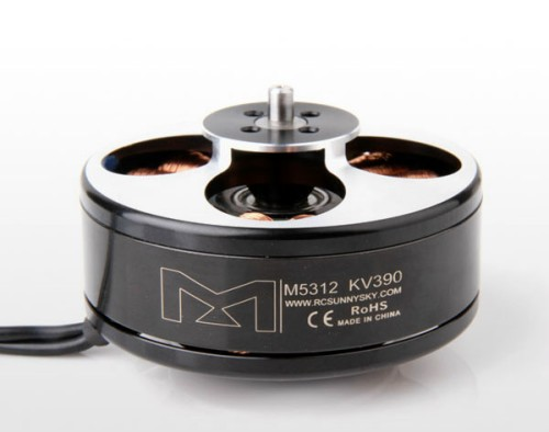 Sunnysky M5312 KV390 Brushless Motor 6S for RC Multicopters