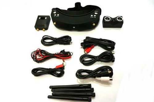 Skyzone 3D FPV Goggles SKY02 Rx and 3D CAMERA