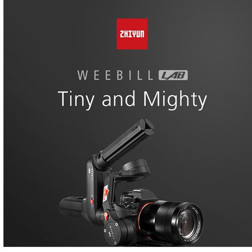 ZHIYUN Weebill LAB 3-Axis Image Transmission Stabilizer for Mirrorless Camera OLED Display Handheld Gimbal