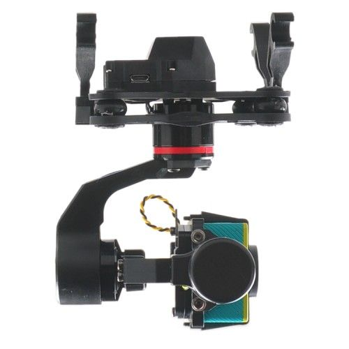 YI3D 3 Axis Glass Fiber Brushless Gimbal AIO for SJ4000 Xiaoyi