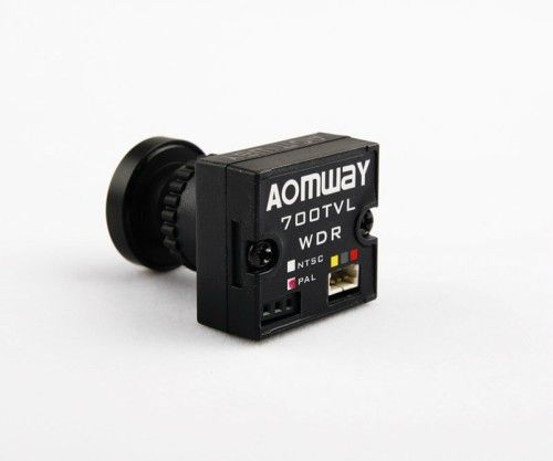 HD Mini 1/3 CMOS FPV Camera 2.1 Wide Angle Lens Module 700TVL